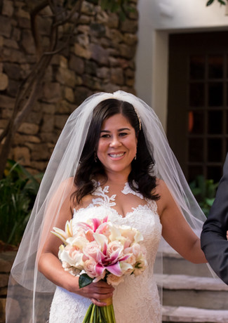 wedding at the omni la mansion del rio
