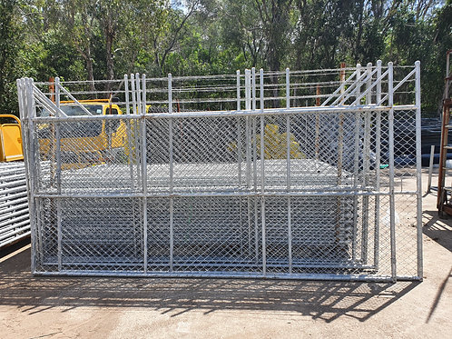 Security Double Gates (+450mm Barb Ext.)
