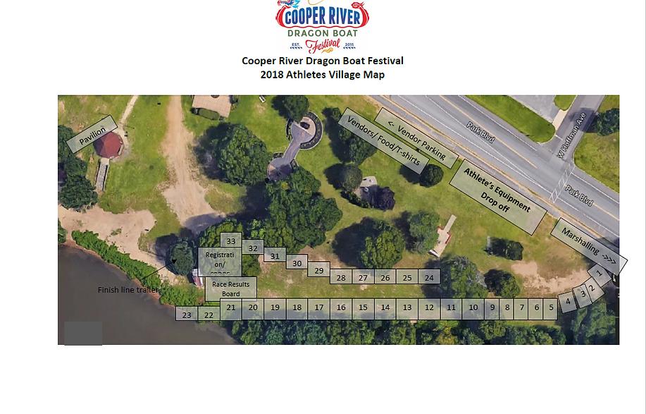 Festival Map Athlete's Village - 2018 (0