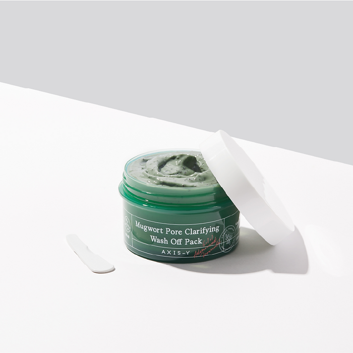 AXIS-Y Mugwort Pore Clarifying Wash Off Pack   KSFBeauty