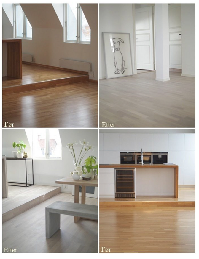 Sliping av gulv. Er det dyrere eller billigere enn å legge nytt?