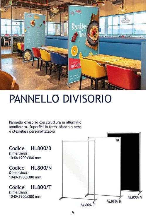 PANNELLO DIVISORIO DA PAVIMENTO