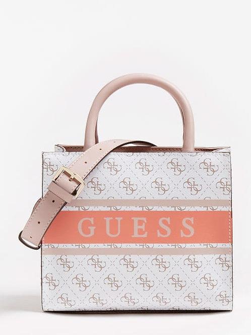Mini sac cabas Monique Logo Guess