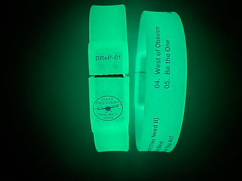 Set of Data Recovery Project EP-01 & EP-02 USB Bracelets
