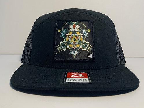 Serpentine Dreams Mandala Hat