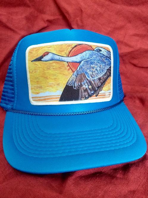 Sandhill crane hat