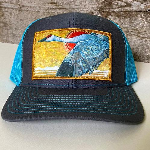 Sandhill Crane BaseBall/Low Profile Hat