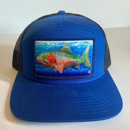 CUTTHROAT TROUT-Flat Bill hats