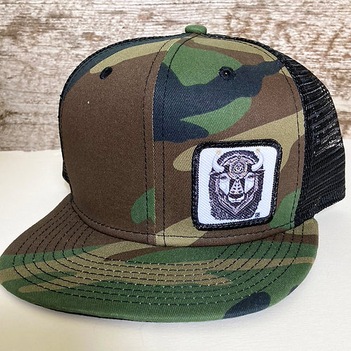 Bison Hat with Mesh Back