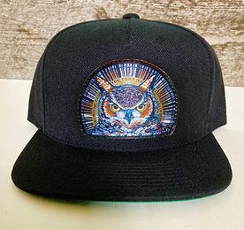 ALL black Great horned owl hat.jpg