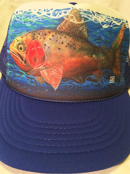 Cutthroat Trout Trucker hat