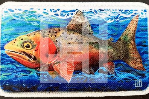 Cutthroat trout patch