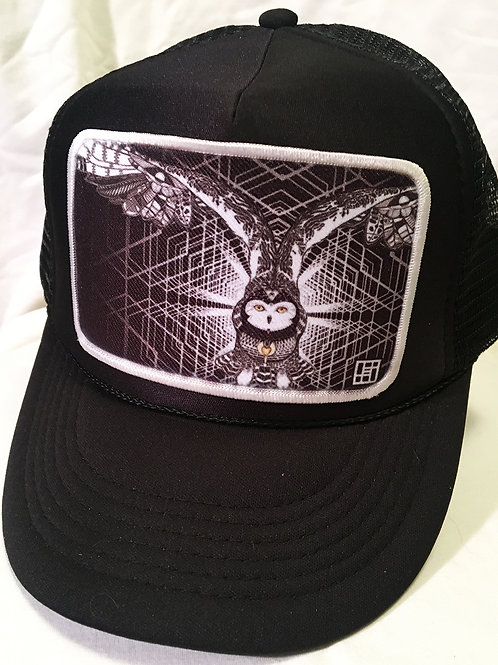 Solstice snowy owl hat