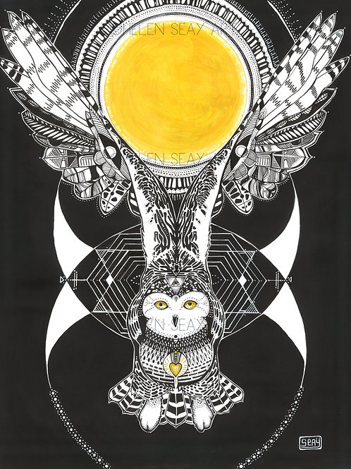 "SOLSTICE   19""x 24"" ORIGINAL ARTWORK-PRINTS ONLY"
