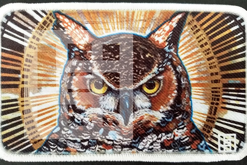 Great horned owl patch