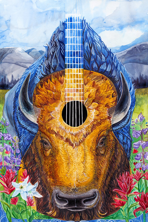 Bison Blues Original