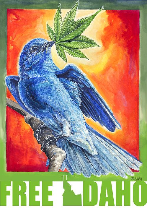 Legalize IDAHO- Mountain Bluebird Hemp