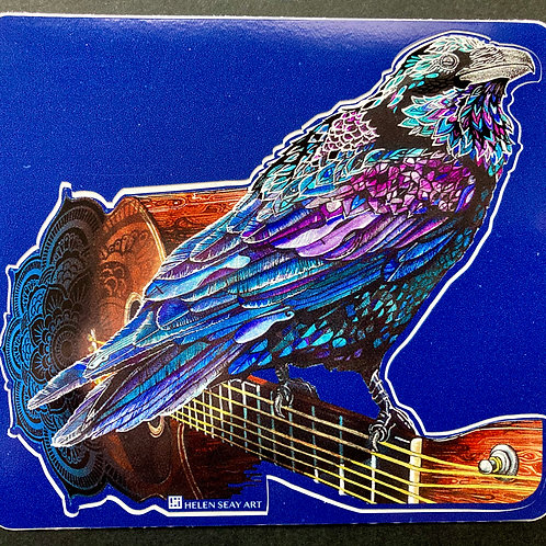 Ravenesce Guitar- Vinyl Sticker