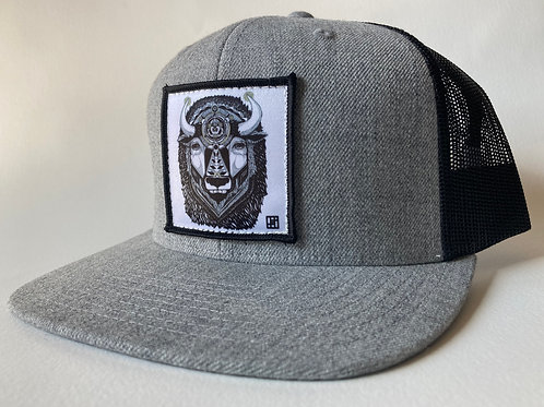 The Manual(Bison) Flat Bill Hats