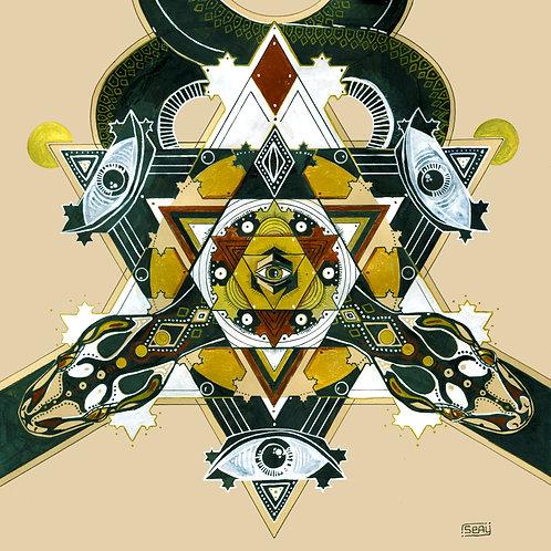 Serpentine Dreams Mandala