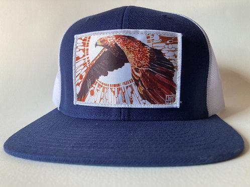 UNBRIDLED(GOLDEN EAGLE) Flat Bill Hats