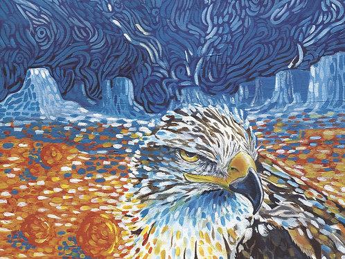 Desert Hawk-Prints only