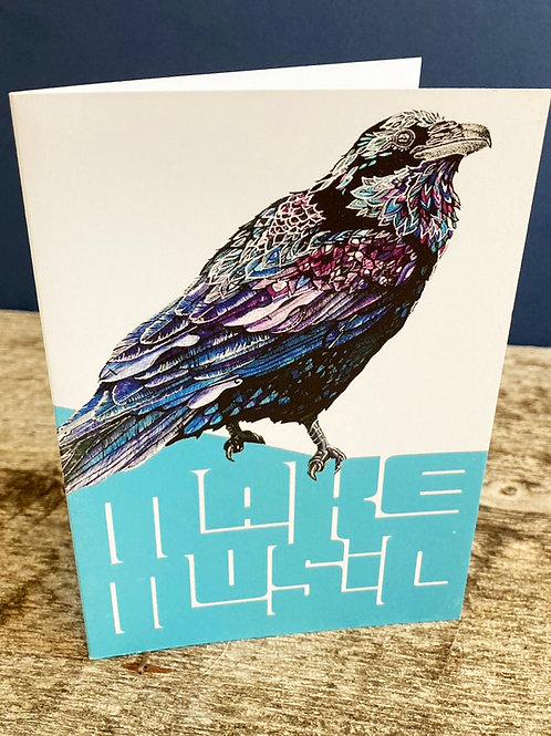 Make Music Raven card