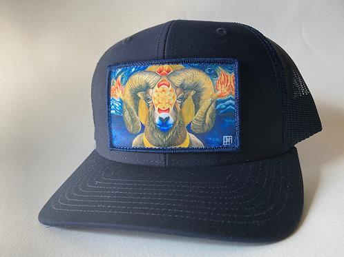 Torchbearer (Big Horn Sheep) Hat BASE BALL CapLow profile