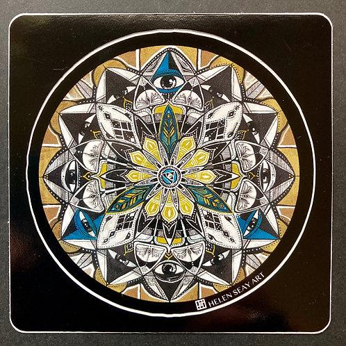 Mandala- Vinyl Sticker