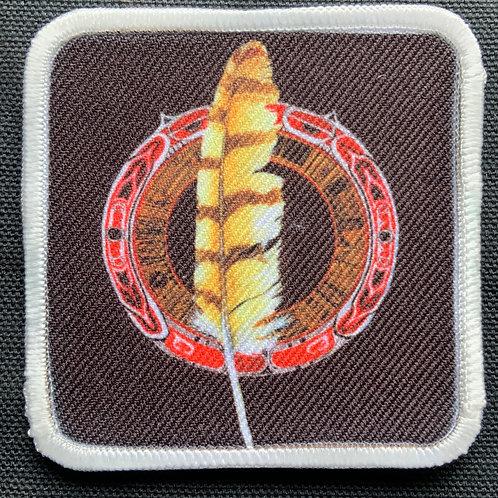 Feather Mandala Patch