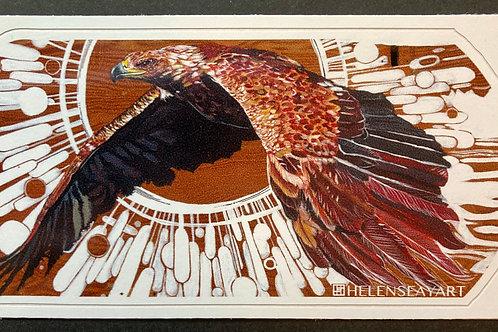 Unbridled/ C=Golden Eagle - Vinyl Sticker