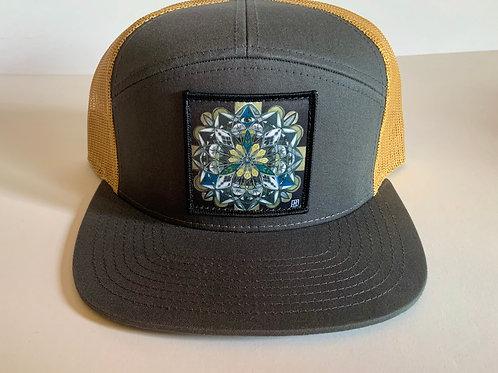 Mandala Hat-Flat Bill