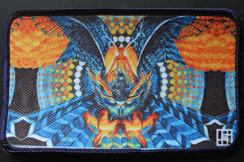 FireWithin(Owl) Patch with navy merrow