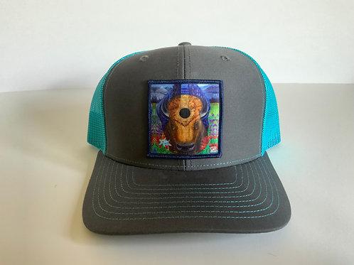 Bison Blues Hats