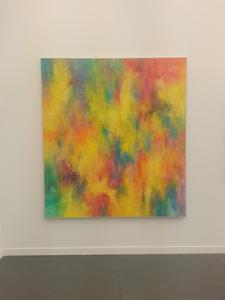 Jean-Baptiste Bernadet - showing at Almine Rech Gallery, Frieze New York 2015.
