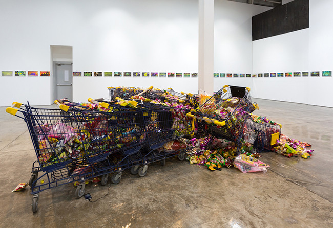 Sophia Al-Maria, Everything Must Go, 2017. All images courtesy The Third Line Gallery, Dubai.