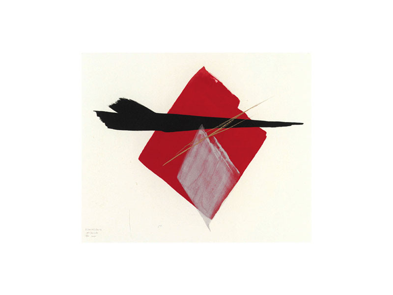 Figure 6 – Toko Shinoda, Reminiscence, lithograph, 2005. Library of Congress, Washington DC