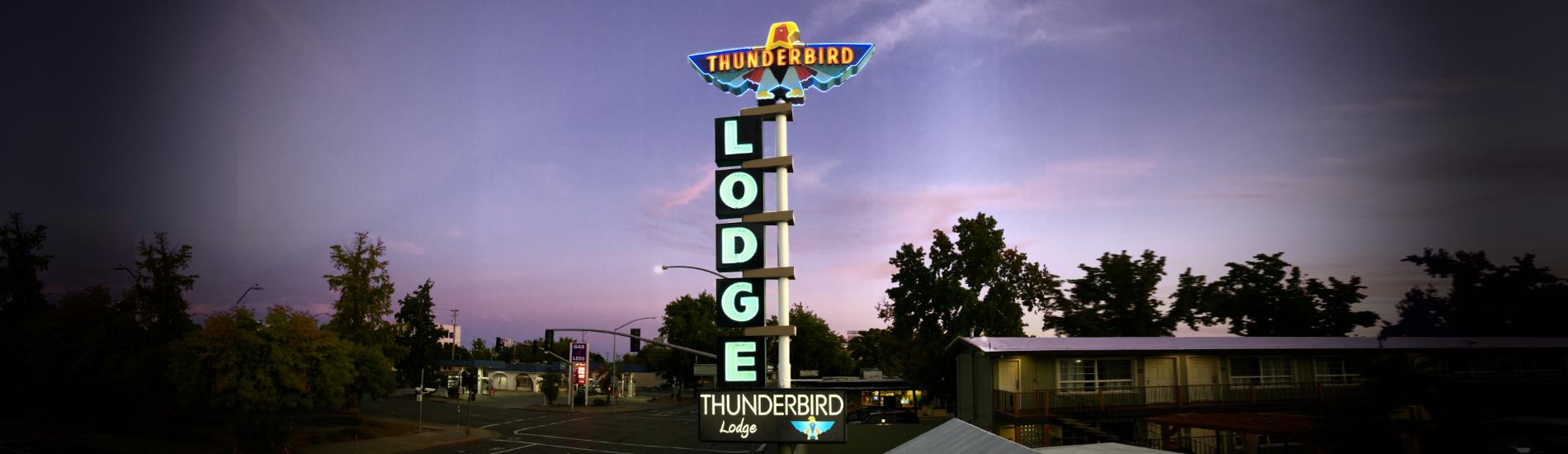 Tbird Sign