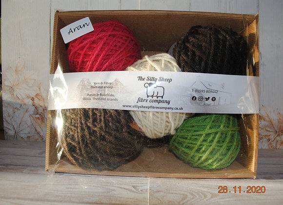 Aran knitting basket 400g
