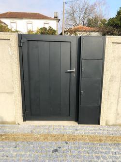 Portão em Alumínio Soldado