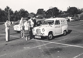 Kim 2 Fred Symns' liveried A35 van, at s