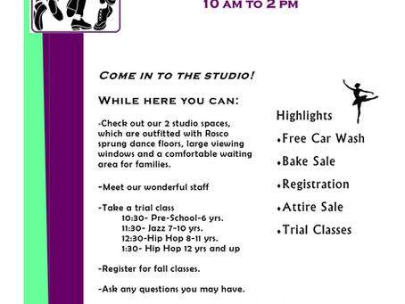 Open House as Rhythm Dance Center