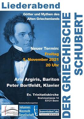 Plakate Der Griechische Schubert 2020-20