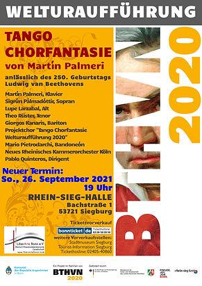 Plakat A3 Tango Chor Fantasie 2020 - 202