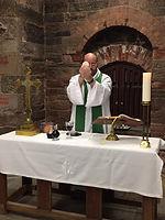 Rev. Laurence at Saint Ann's Church for the Deaf