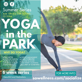 Yoga in the Park Summer series