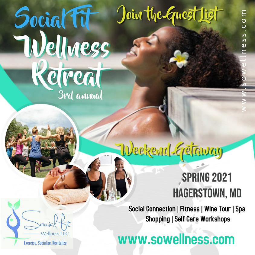 3rd Annual Women's Yoga & Spa Wellness Retreat: Spring 2021