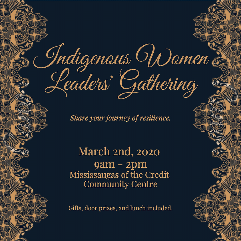 Invite Only - Indigenous Women Leaders' Gathering
