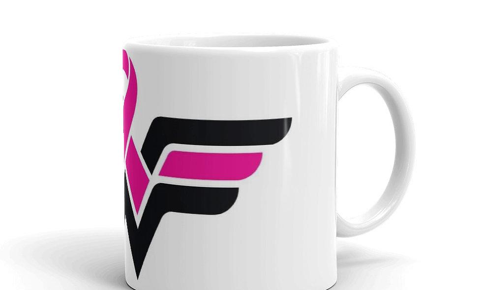 Breast Cancer Wonder Woman Mug