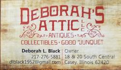 Deborah's Atttic